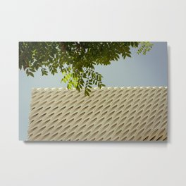 The Broad In the Afternoon Vintage Retro Photography II Metal Print