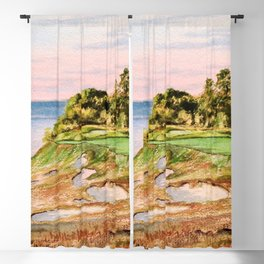 Whistling Straits Golf Course 17th hole Blackout Curtain
