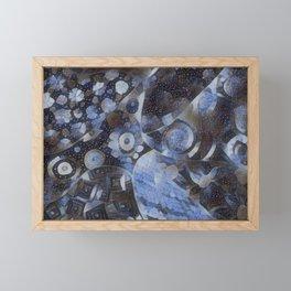 STARRY BONANZA OF LUCID FACEMELT Framed Mini Art Print
