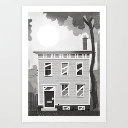 Places I've Lived Series - 6 Art Print
