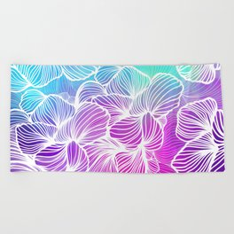 Tropical Cold Front Beach Towel
