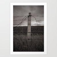 Winding Art Print