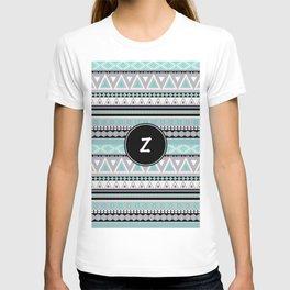 Monogram Tribal Pattern *Z* T-shirt