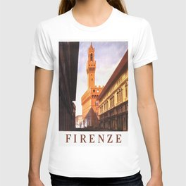 Vintage Florence Italy Travel T-shirt
