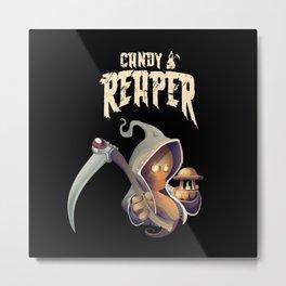 Candy Reaper Metal Print