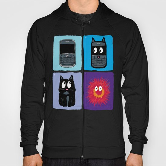 Don't Let Your BlackBerry Turn into Exploding Cats.  Hoody