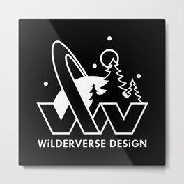 Wilderverse Design Logo Metal Print