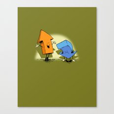 the up and down show! Canvas Print