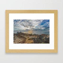 Broken Hill Sunset Framed Art Print