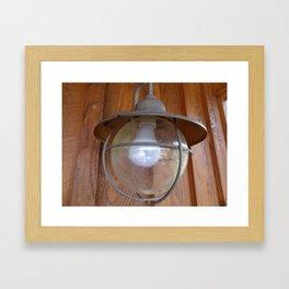 Lighting Globe Framed Art Print