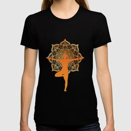 meditation for people who like meditation and yoga  T-shirt