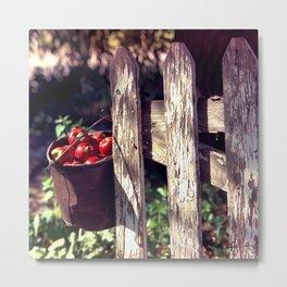 Orchard Gate Metal Print