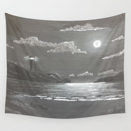 Quiet Night Wall Tapestry