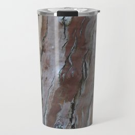 TEXTURES -- Fern-Leaved Ironwood Bark Travel Mug