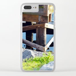 Port St. Joe Marina view 23 Clear iPhone Case