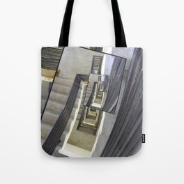 Well of Stairs Tote Bag