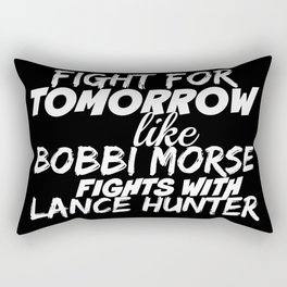 Fight For Tomorrow Like Bobbi Morse Fights with Lance Hunter - AoS Rectangular Pillow