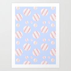 ysabel (lavender) Art Print