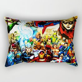 super hero full power Rectangular Pillow