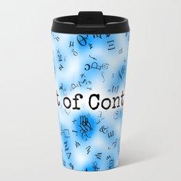 Out of Control [Blue] Travel Mug