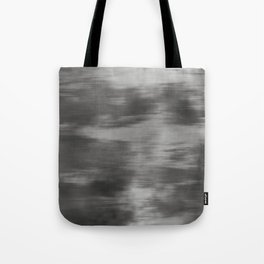 Fusion Abstract Watercolor Blend Pantone Pewter / Fluid Art Ink Tote Bag