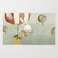 balloon Area & Throw Rugs featuring Balloon by Judith Loske