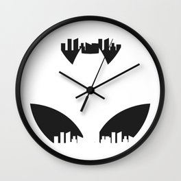 Gotham. The Dark City. Wall Clock