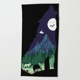 Pride of the Forest Beach Towel