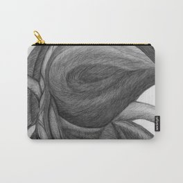 The Dream in Black and White Carry-All Pouch