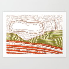 Wales Art Print