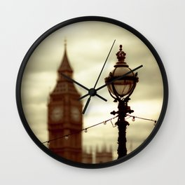 Stands the clock Wall Clock