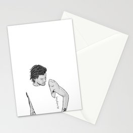 louis gray Stationery Cards