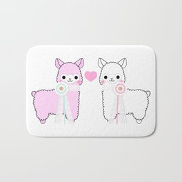 Alpaca Love Bath Mat