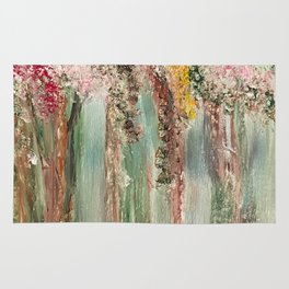 Woods in Spring Rug