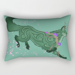 Fox Forest Spirit Rectangular Pillow