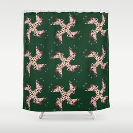 Giraffe (Light Up) Shower Curtain