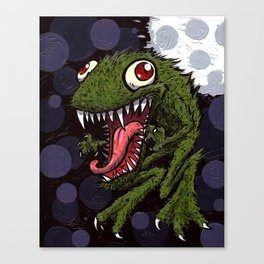 Were-Frog! Canvas Print