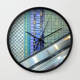 Detroit People Mover Art Cadillac Center Wall Clock