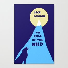 The Call of the Wild - Jack London - Classic Books Canvas Print