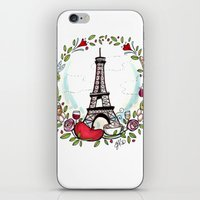 cooking iPhone & iPod Skins featuring French Cooking by Grace Anderson