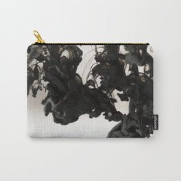 Black ink in water Carry-All Pouch
