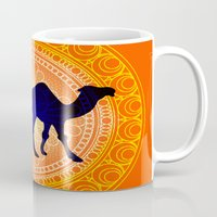 camel Mugs featuring Camel by Katherine Marshall