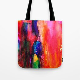Space Clouds Tote Bag