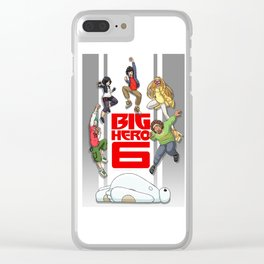 BH6 - We could be heroes! Clear iPhone Case