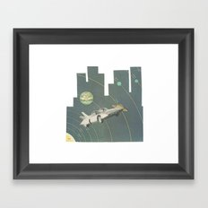Planetary Shifters Framed Art Print
