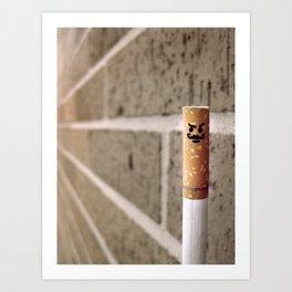 Le'Cigarette Art Print