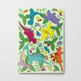 Dinosaurs Metal Print