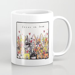 Focus on Love Coffee Mug
