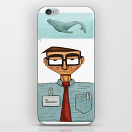 free and square iPhone Skin