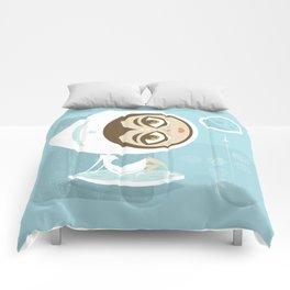 Rocket Girl Comforters